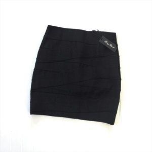 NWT Honey Punch Bandage Mini Skirt Von Maur